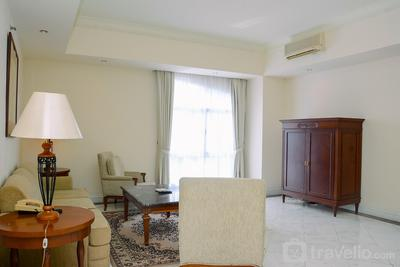 Elegant and Spacious 2BR Menteng Executive Apartment By Travelio