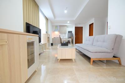 Modern 2BR Apartment @ Veranda Residence near Puri and Kebon Jeruk By Travelio