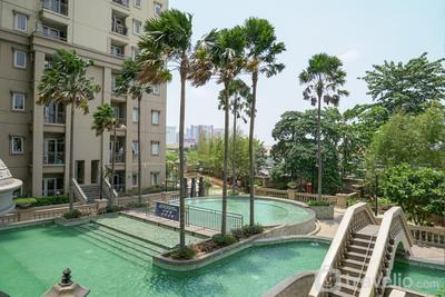 Capacious Unfurnished 3BR Apartment Grand Palace Kemayoran with AC By Travelio