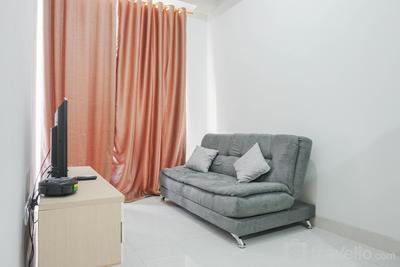 Comfy 1BR Sedayu City Suites Apartment By Travelio