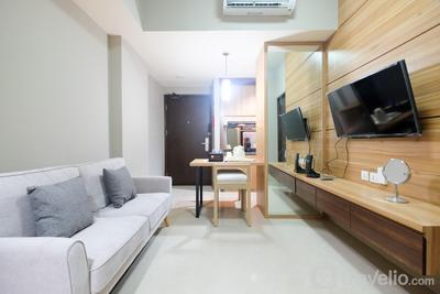 Modern and Good 2BR (No Kitchen) Mustika Golf Apartment By Travelio