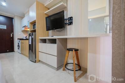 Cozy Studio Room Apartment Menteng Park By Travelio