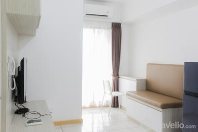 Modern and Comfort 2BR Apartment at M-Town Residence By Travelio