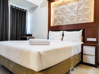 Homey and Comfy Studio at Vida View Makasar Apartment By Travelio