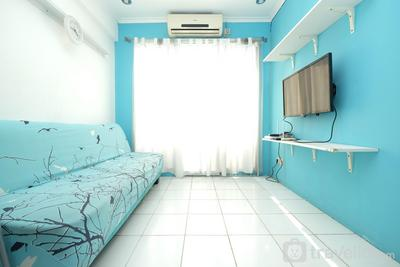 Minimalist 2BR Apartment at Sentra Timur Residence By Travelio