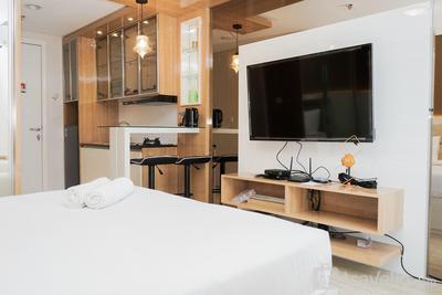 Minimalist and Cozy Studio Apartment at Tuscany Residences By Travelio