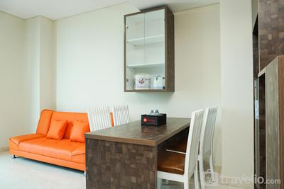 New Furnished 2BR Puri Orchard Apartment By Travelio