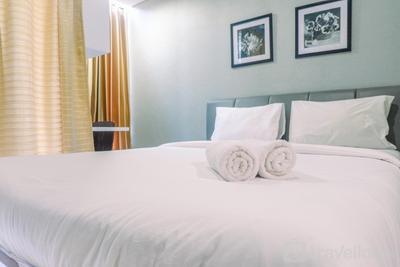 Cozy Living Studio Room Apartment at Tamansari Papilio By Travelio