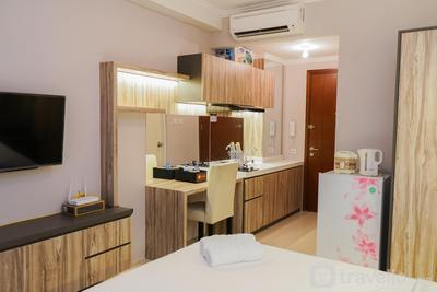 New Furnished Studio at Signature Park Grande Apartment By Travelio