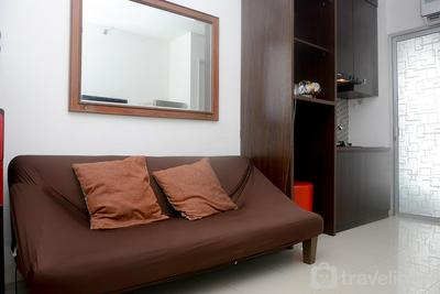 Comfy and Simply 2BR at Bassura City Apartment near Mall By Travelio