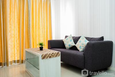 2BR Cosmo Terrace Apartment next to Thamrin City By Travelio