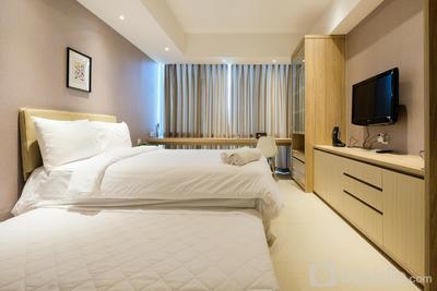 Elegant Studio U Residence Apartment Karawaci By Travelio