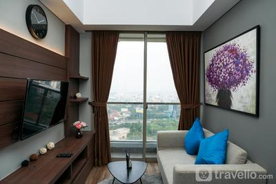 Luxurious Furnished 3BR Apartment @ Taman Anggrek Residence By Travelio