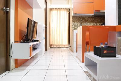 Prime 2BR at Gateway Apartment Ahmad Yani Cicadas By Travelio