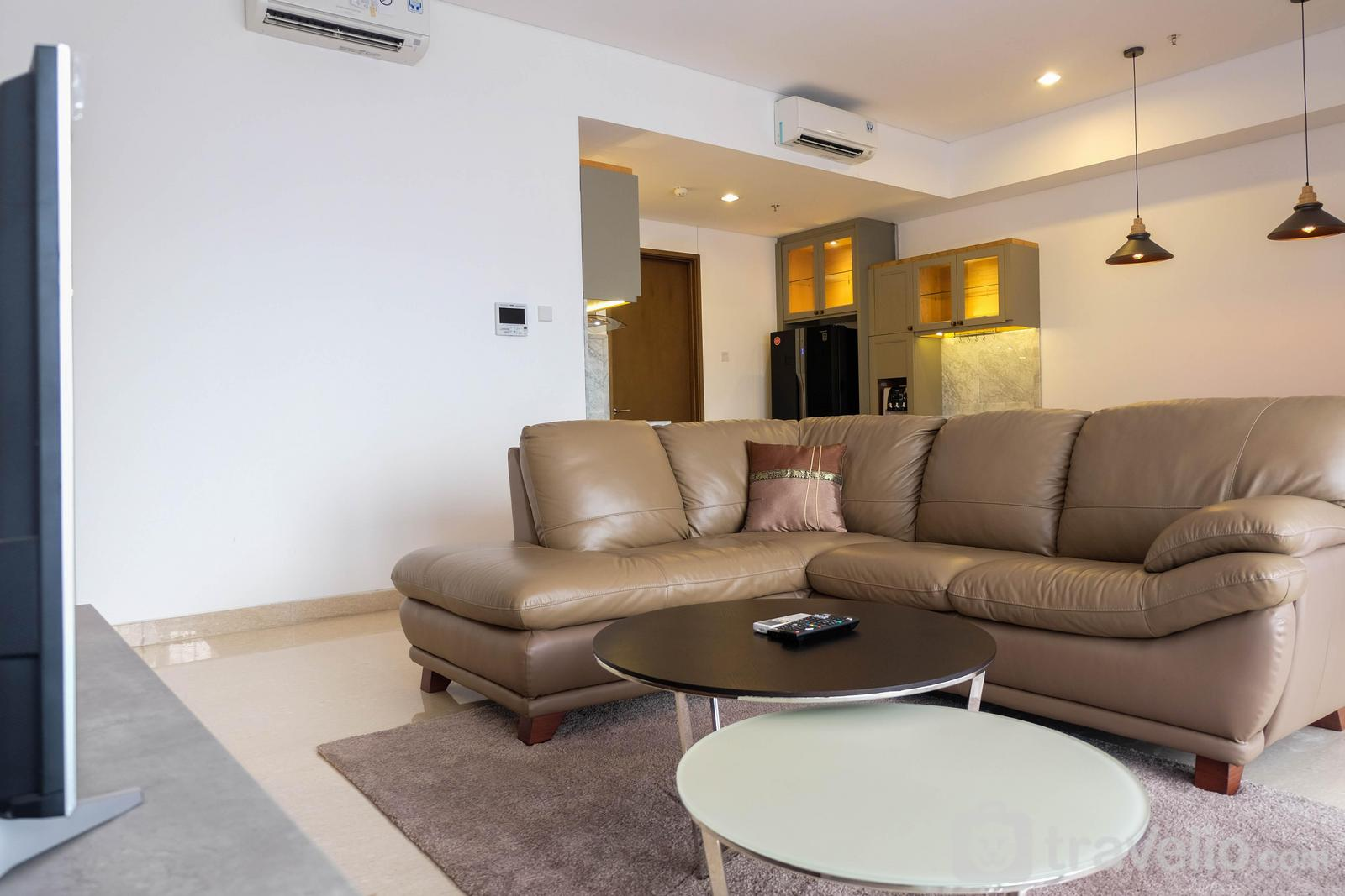 Apartemen 1 Park Avenue - Spacious 2BR Apartment at 1 Park Avenue By Travelio