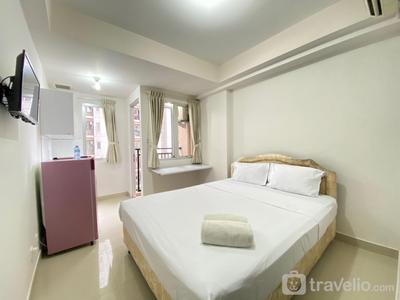 Compact Studio Room Apartment at Sudirman Suites Bandung By Travelio