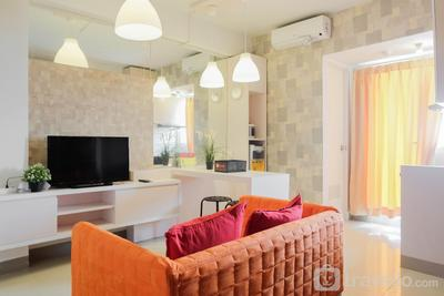 Tranquil 2BR Apartment at Bintaro Park View By Travelio