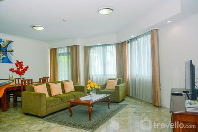 Spacious 3BR Prapanca Apartment near Lippo Mall Kemang By Travelio