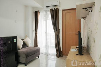 Chic and Cozy 2BR The Nest Puri Apartment By Travelio