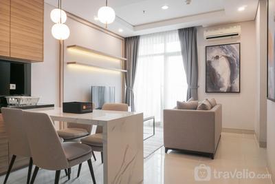 2BR Luxury Modern Ciputra International Apartment By Travelio