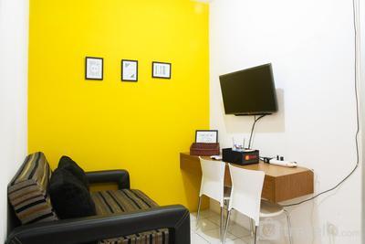 Cozy 2BR Apartment Pancoran Riverside By Travelio
