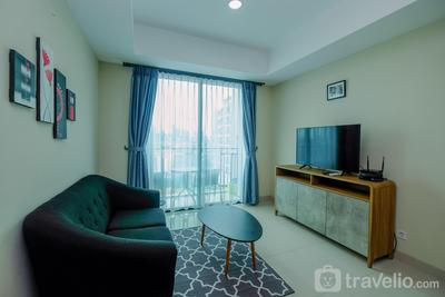 New Furnished 1BR at Nine Residence Apartment By Travelio