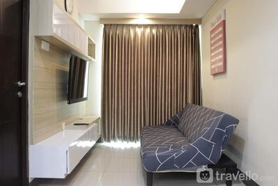 Best Location 2BR Tamansari La Grande Apartment By Travelio