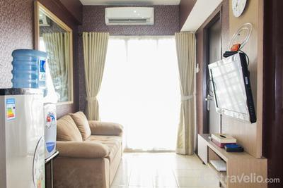 Minimalist and Comfort 2BR at Serpong Greenview Apartment By Travelio