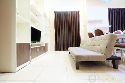 Classy 2BR Apartment @ MT Haryono Square By Travelio