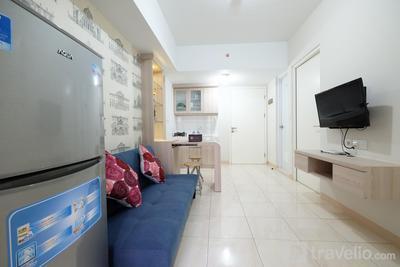 3BR near Sumarecon Mall Bekasi at The Springlake Apartment by Travelio