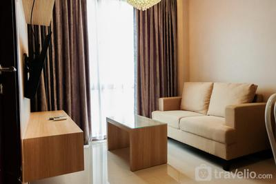 Contemporary 1BR Asatti Vanya Park Apartment By Travelio
