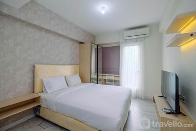 Comfy and Stylish Studio Podomoro Golf View Apartment By Travelio