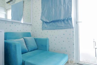 Best Comfy and Modern 2BR Green Pramuka Apartment By Travelio