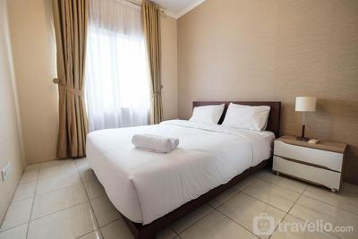 Relaxing 2BR at Sudirman Park Apartment By Travelio