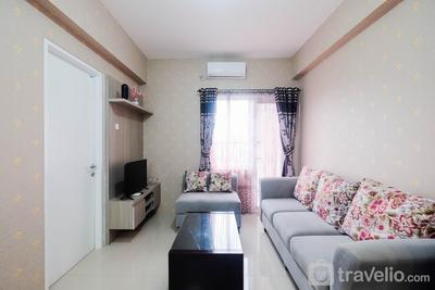 Cozy and Homey 2BR at Bogorienze Apartment By Travelio