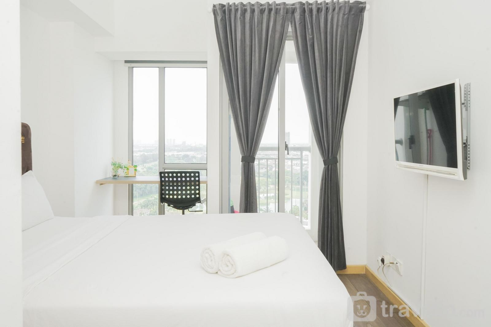 Apartemen M-Town Residence - Great Choice Studio Apartment at M-Town Residence By Travelio