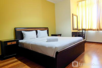 2BR Ambassador Apartment Connect to ITC Kuningan By Travelio