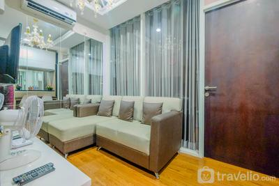 1BR Apartment Atlanta Residences next to RS Bunda Margonda By Travelio