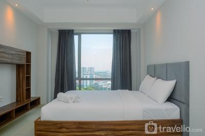 Wonderful 1BR Apartment at The Mansion Kemayoran By Travelio