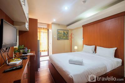Comfy Studio Room Apartment at Kebagusan City By Travelio