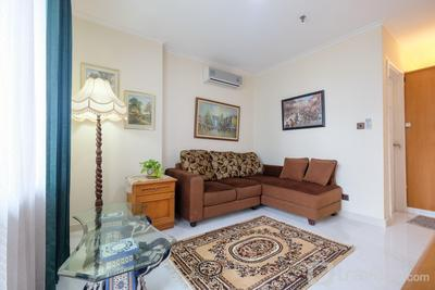 Comfortable 1BR at Apartment Semanggi Slipi By Travelio