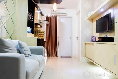 Simply 2BR with Pool View Bassura City Apartment By Travelio