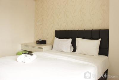 Homey Studio Room at Tamansari Panoramic Apartment By Travelio