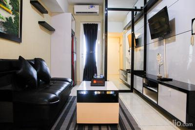 Deluxe and Modern 2BR The Springlake Summarecon Apartment By Travelio