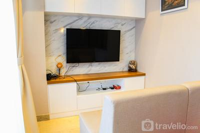 Stunning 3BR Apartment at The Branz BSD City By Travelio