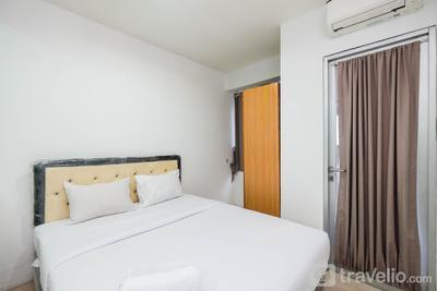 Comfortable and Homey Studio at Titanium Square Apartment By Travelio