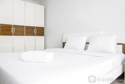 Comfy Studio Dago Suites Apartment with ITB Jogging Track View By Travelio