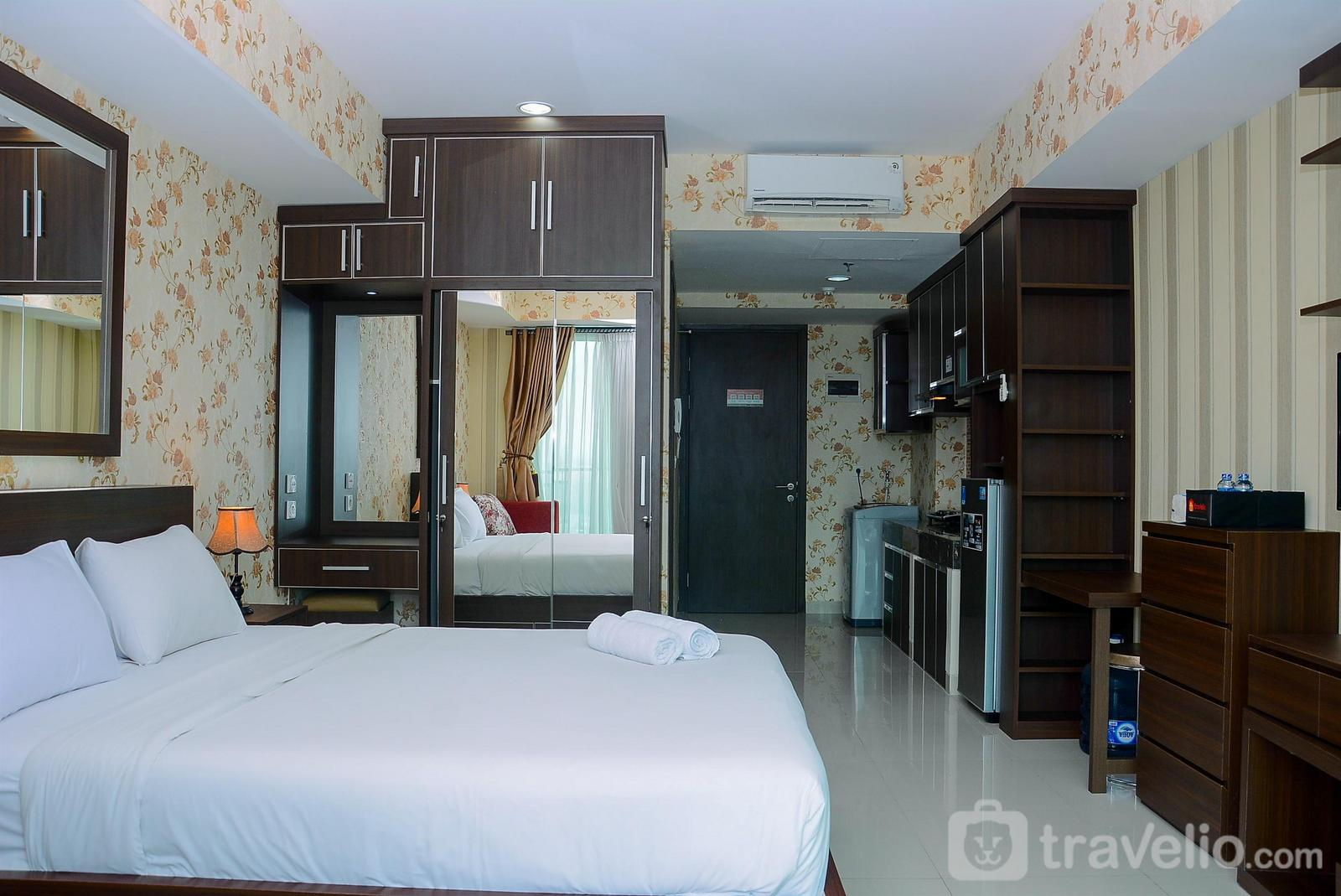 Apartemen Nine Residence - Comfortable with Modern Style Studio Apartment at Nine Residence By Travelio