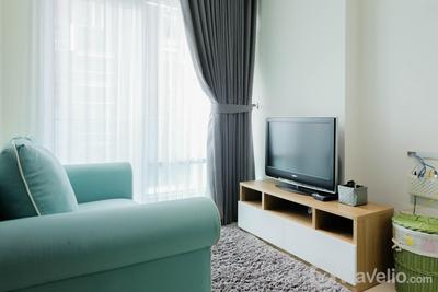 Cozy and Tidy 1BR Apartment at Brooklyn Alam Sutera By Travelio