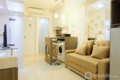 Elegant 2BR Bassura City Cipinang Apartment By Travelio